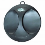 Hair Tools Deluxe Round Mirror Black