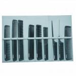 Lotus Comb Wallet Grey Including 9 Combs
