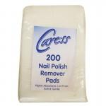 Caress Professional Nail Polish Remover Pads x 200