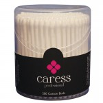 Caress Professional Cotton Buds Plastic Stem x 200
