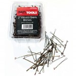 "Hair Tools 2"" Triple Wave Grips Brown (Box of 500)"