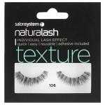 Salon System Naturalash 106 Black Texture Strip Lashes