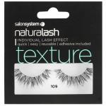 Salon System Naturalash 109 Black Texture Strip Lashes