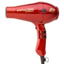 Parlux 3200 Compact Raunchy Red Hairdryer (1900w)