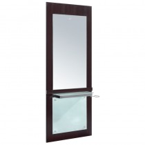 Lotus Elba 1 Wall Mounted Unit Dark Wood Finish
