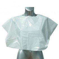 Disposable Shoulder Cape Clear x 100