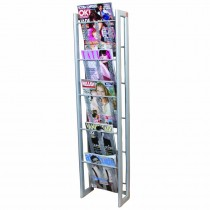 Finesse Magazine Rack Wall Mounted