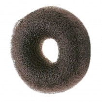 Sibel Synthetic Hair Bun Ring Dark Brown