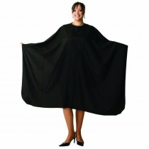 Lotus Crinkle Nylon Square Black