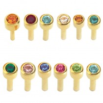 Caflon Assorted Birthstone Packs 24ct Gold x 12 Regular
