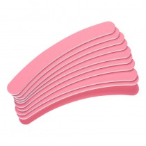 The Edge Pink Curved File 400/400 Grit (Pack of 10)