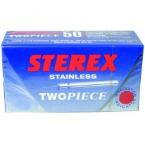 Sterex Stainless Steel Two Piece Needles F3R Regular - Box of 50