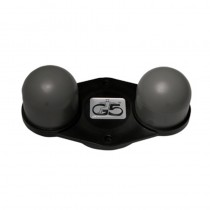 Carlton No.23 Head Two Ball Firm Rubber for G5 Massager