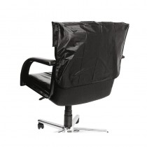 Lotus Chair Back Cover Black 56cm