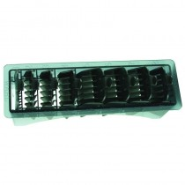 Wahl Comb Sets with Storage Tray - Black