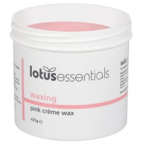 Lotus Essentials Pink Creme Wax 425g