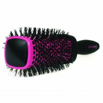 Denman DSQ1 Squargonomics Pink Square Barrel Brush