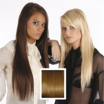 Universal 18in Auburn 30 Clip in Human Hair Extensions 105g