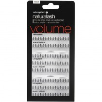 Salon System Salon Value Individual Lashes Black Medium