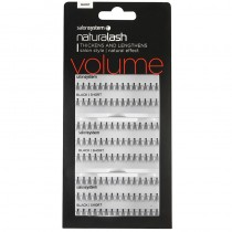 Salon System Salon Value Individual Lashes Black Short