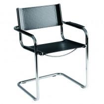 Delta Waiting Chair Black