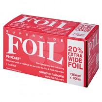 Procare Superwide Red Foil 120mm x 100m