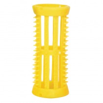 Head Jog Rollers with pins Yellow x 12 (22mm)