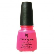 China Glaze Neon Pink Voltage 14ml Nail Polish