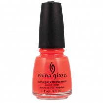 China Glaze Neon Orange Knockout 14ml Nail Polish