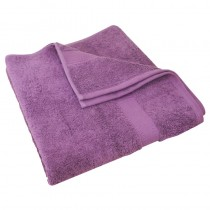 Luxury Egyptian Aubergine Bath Towel 70 x 130cm