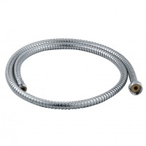 Chrome Flexible Hose 1.2m Male and Female Fitting