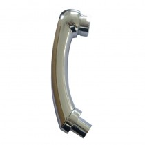 Chrome Shower Head with Female Fitting and Shower Spray Adaptor