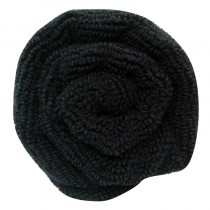 Lotus Microfibre Hair Towel Black x12