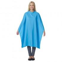 Lotus Pop Shot Ocean Blue Gown with Popper Fastener