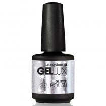 Gellux Silver Crystal 15ml Glitter Gel Polish