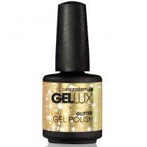 Gellux Gold Rush 15ml Glitter Gel Polish