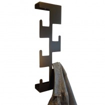 Vertical Coat Rack Black