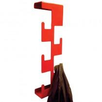 Vertical Coat Rack Red