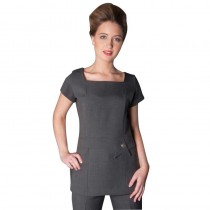 Enzo Tunic Grey Size 14 by Florence Roby