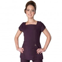 Enzo Tunic Plum Size 18 by Florence Roby