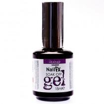 NailFX Heather Soak Off Coloured Gel Polish 15ml