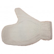 Towelling Thumb Mitt White