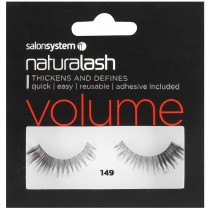 Salon System Naturalash 149 Black Strip Lashes