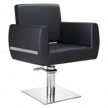 Lotus Austin Square Styling Chair Black