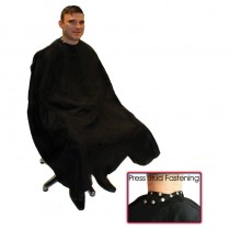 Hair Tools Deluxe Barber Gown with Poppers