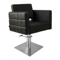 Lotus Washington Styling Chair Black with Square Base
