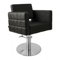 Lotus Washington Styling Chair Black with Round Base