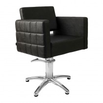 Lotus Washington Styling Chair Black with 5 Star Base