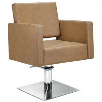 Lotus Phoenix Styling Chair Biscuit with Square Base