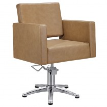 Lotus Phoenix Styling Chair Biscuit with 5 Star Base